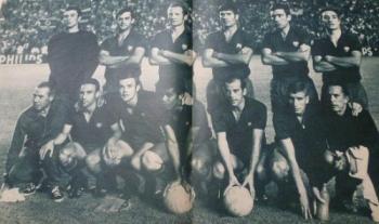 alineación FCB final copa 1968