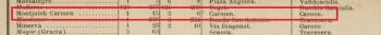 Anuari Ciutat Barcelona 1904. Noms de carrer, numeracions i on comencen i acaben.