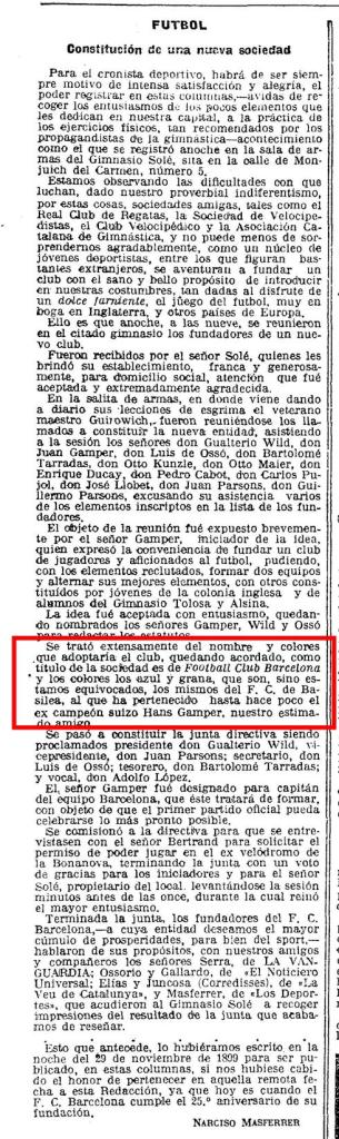 Article La Vanguardia 29-11-1924
