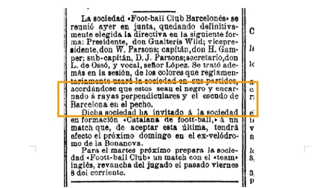 Article La Vanguardia 15-12-1899